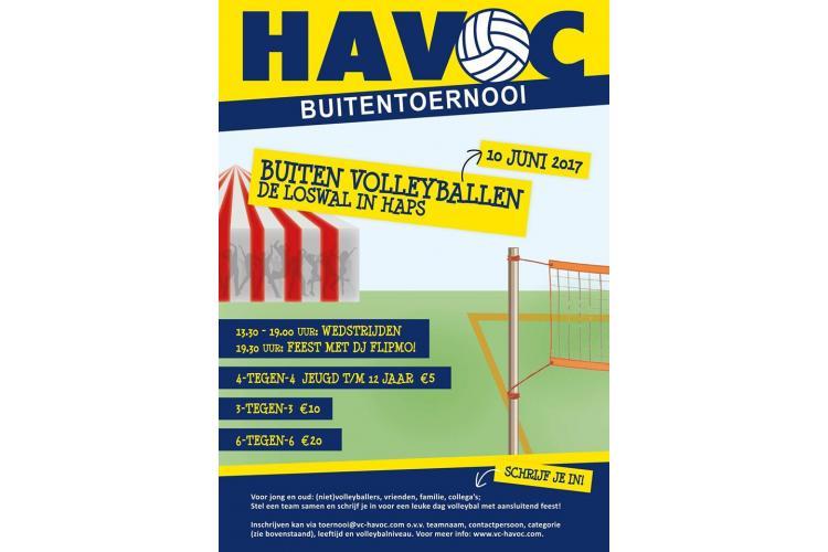 HaVoC Buitentoernooi 10 juni 2017 | VC Volt
